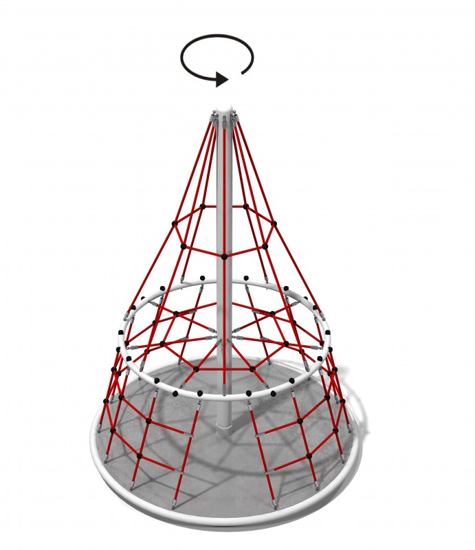 Linarium MT. Everest Plac zabaw new-2091playground-net-structures-mt-everest