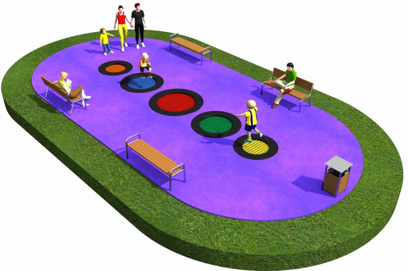Trampolines  Layout 20 Inter Play Playground