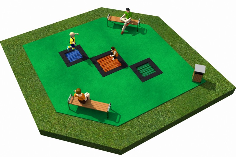 Trampolines  Layout 21 Inter Play Playground