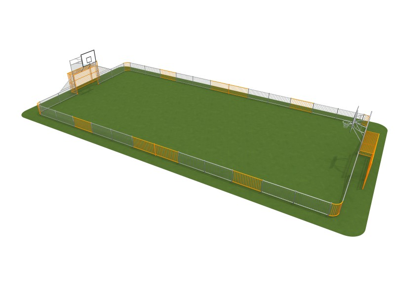 ARENA 2a (25x12m) Inter Play Playground