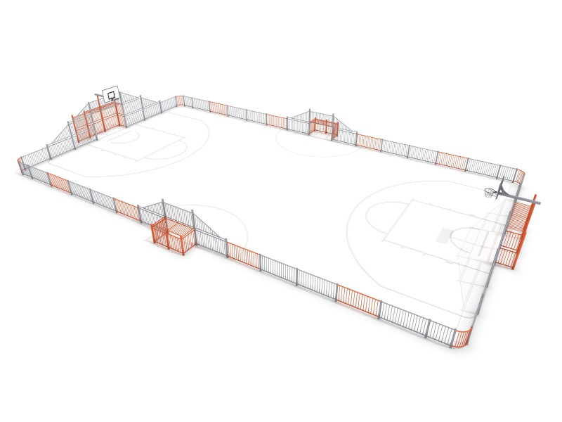 ARENA 5 (29x16m) Inter Play Playground