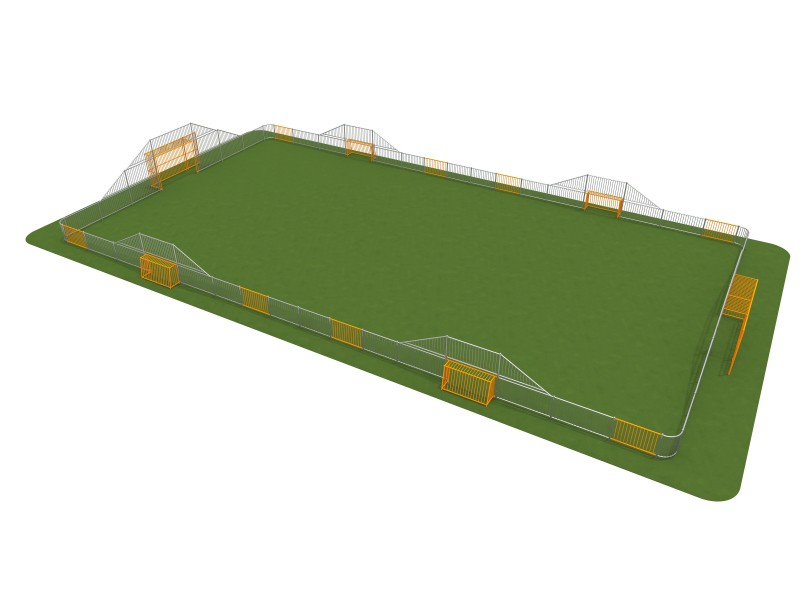 ARENA 5c (30x16m) Inter Play Playground