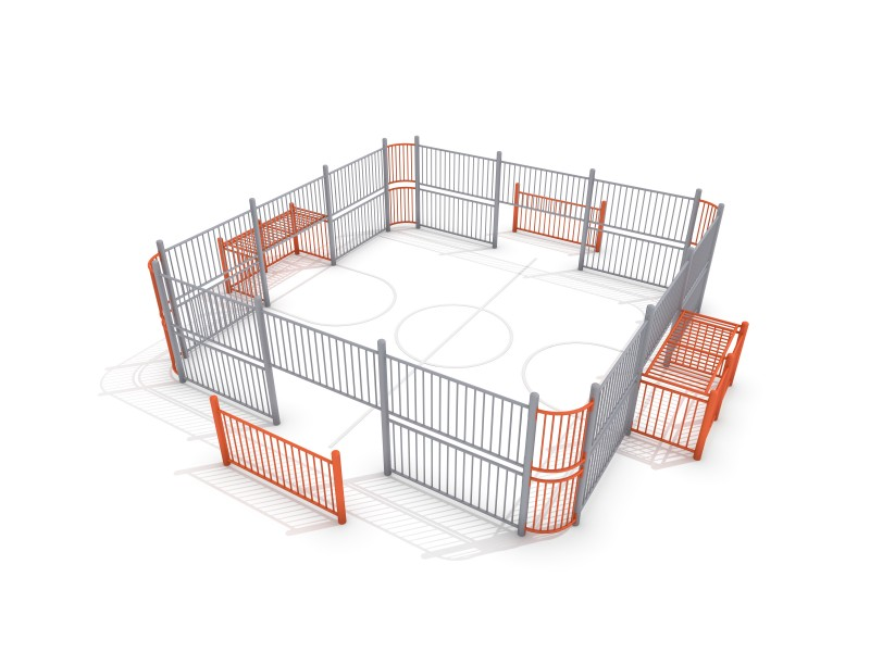 Inter-Play - SOCCER RING 1 (7x7m)