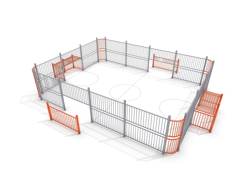 Inter-Play - SOCCER RING 3 (9x7m)