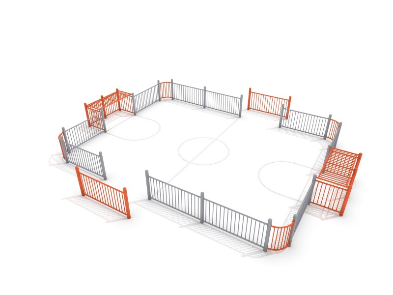 SOCCER RING 4 (9x7m) Inter Play Playground