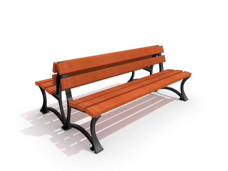 Playground Equipment for sale Cast-iron bench 03 Professional manufacturer