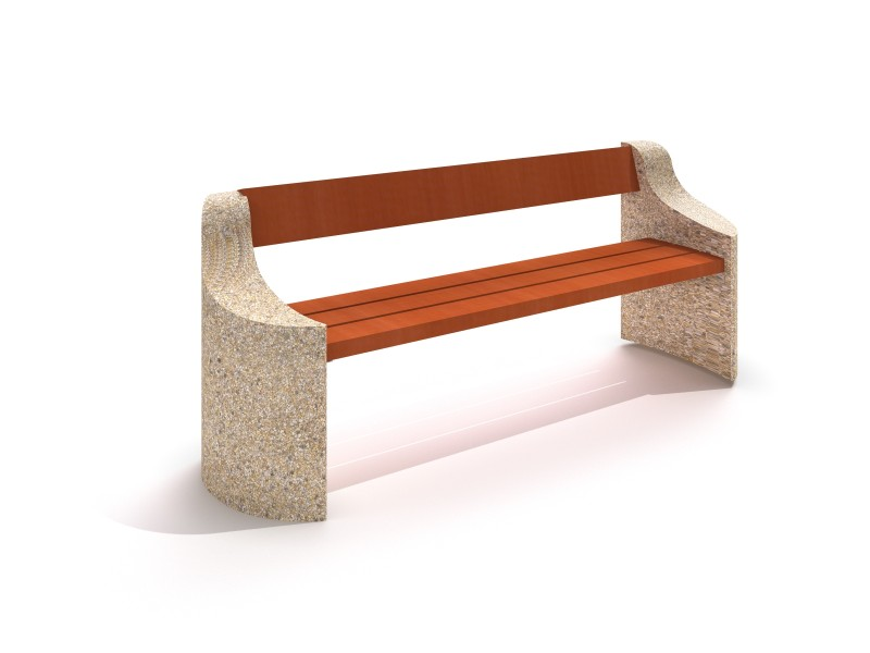 Inter-Play - Concrete bench 05