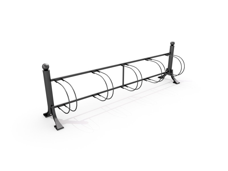 Cast-iron bicycle rack 01   Inter Play Playground