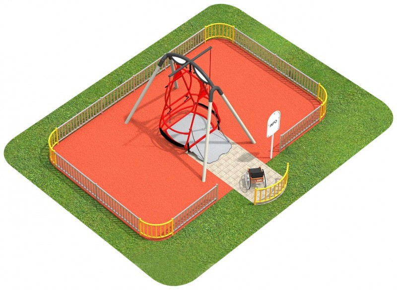 Inter Play Playground FENCING for Saturn swing
