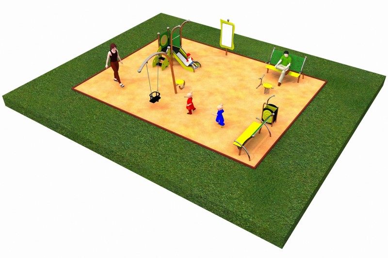 Inter Play Playground LIMAKO for toddlers layout  1