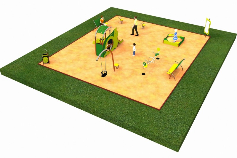 Inter Play Playground LIMAKO for toddlers layout 3