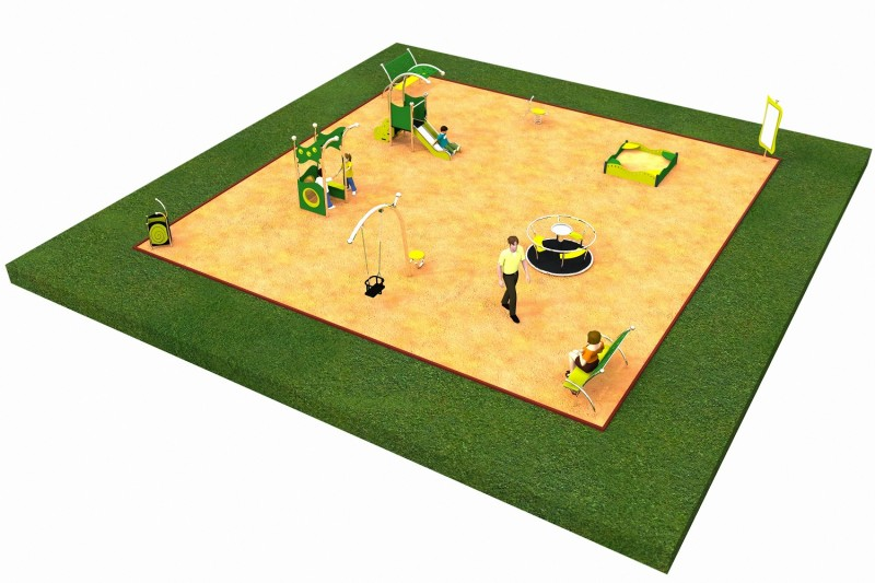 Inter Play Playground LIMAKO for toddlers layout 4