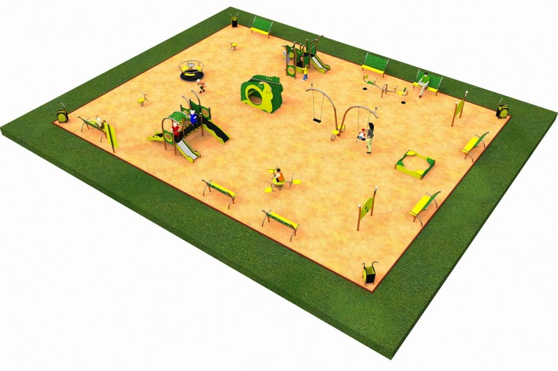 Inter Play Playground LIMAKO for toddlers layout 7