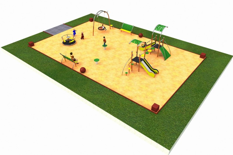 Inter Play Playground LIMAKO for kids layout 1