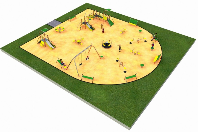 Inter Play Playground LIMAKO for kids layout 3