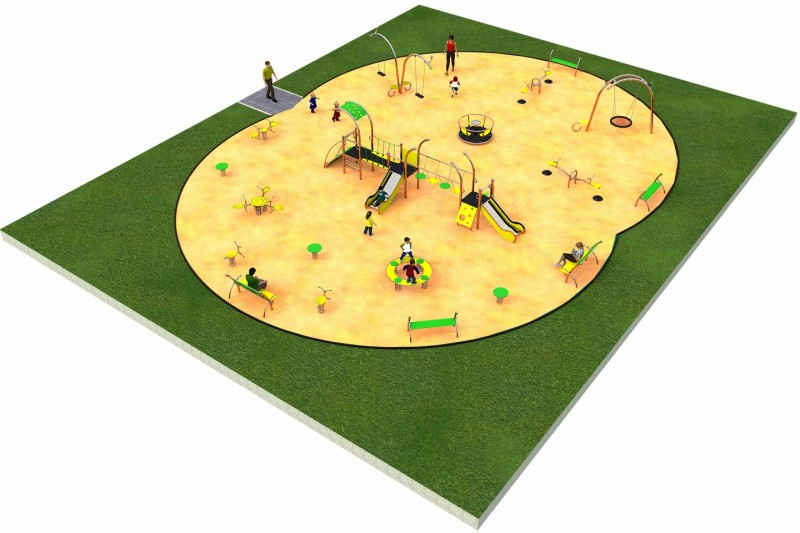 Inter Play Playground LIMAKO for kids layout 6
