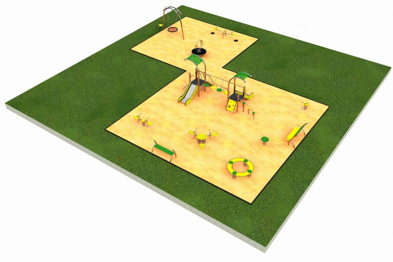 Inter Play Playground LIMAKO for kids layout 7