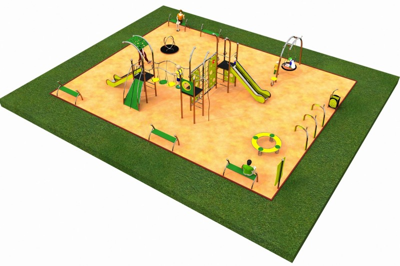 Inter Play Playground LIMAKO for teenagers layout 2