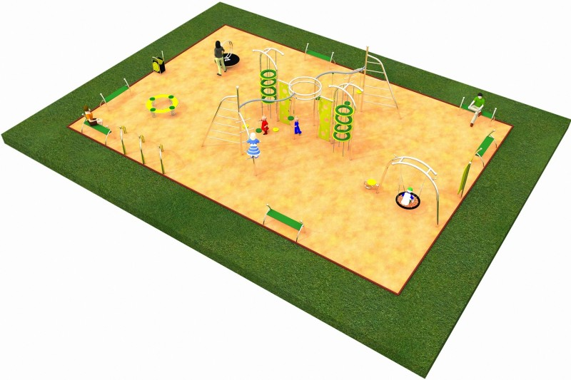 Inter Play Playground LIMAKO for teenagers layout 3