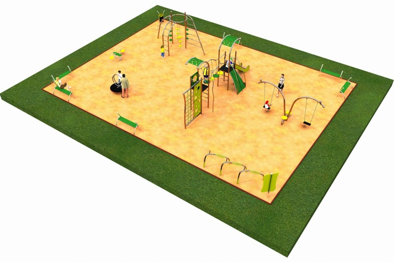 Inter Play Playground LIMAKO for teenagers layout 4