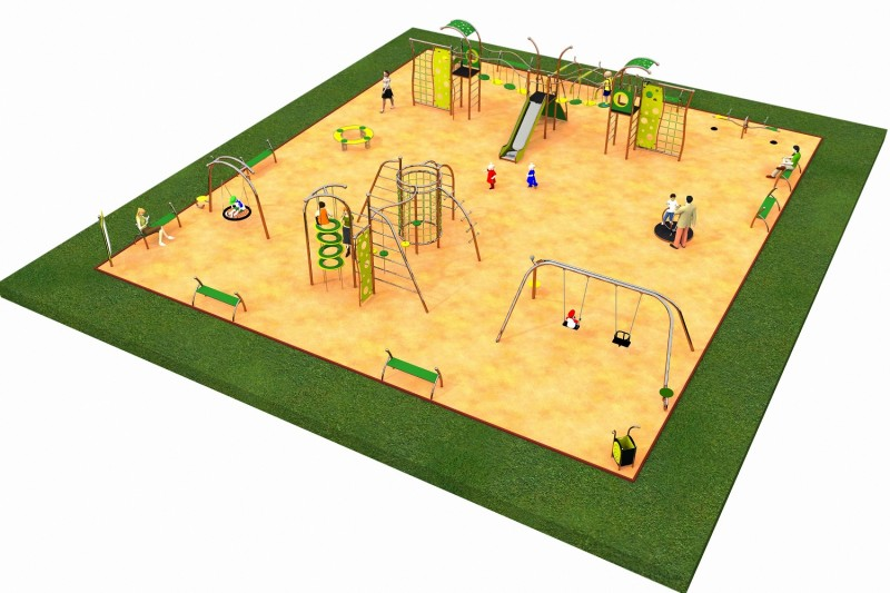 Inter Play Playground LIMAKO for teenagers layout 5