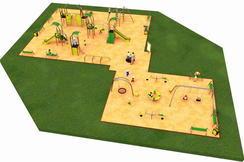 Inter Play Playground LIMAKO for teenagers layout 6