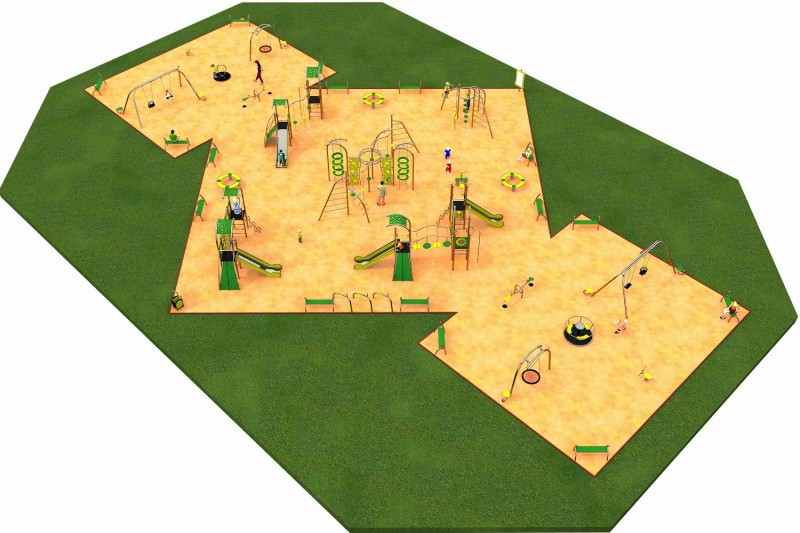 Inter Play Playground LIMAKO for teenagers layout 7