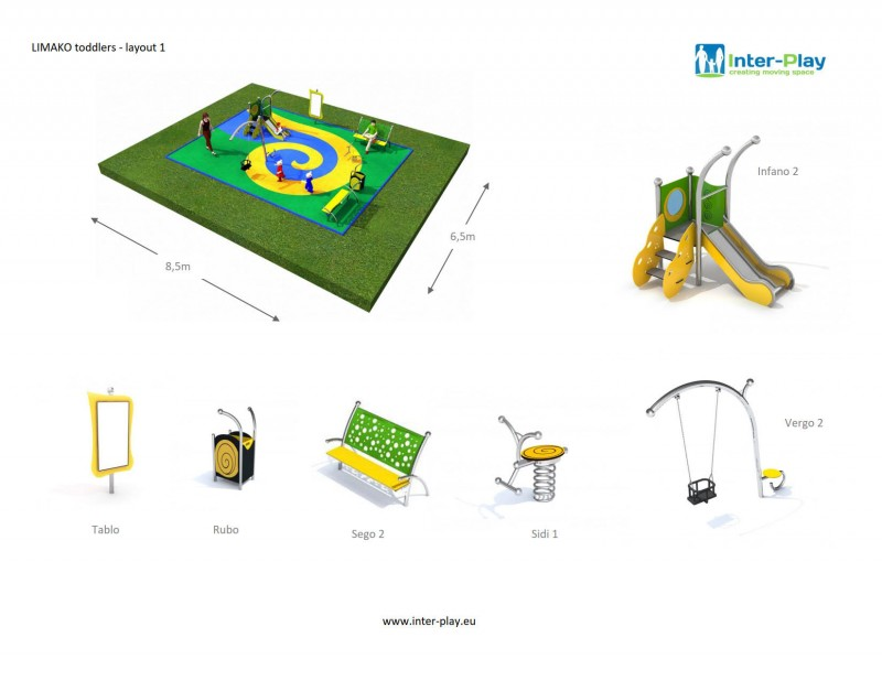LIMAKO for toddlers layout  1 Inter Play Playground Park