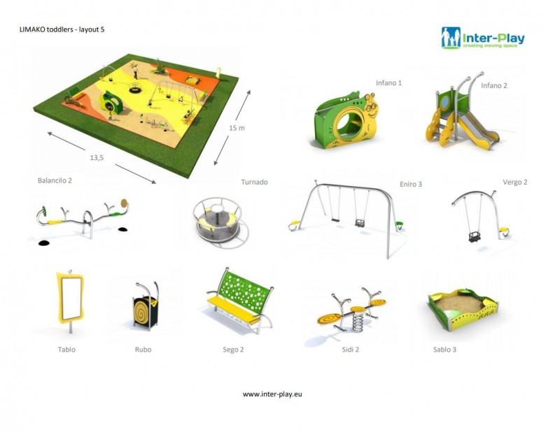 LIMAKO for toddlers layout 5 Inter Play Playground Park