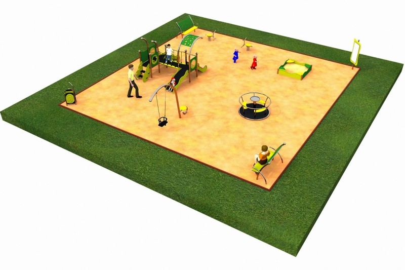 LIMAKO for toddlers layout 2 Inter Play Playground Park