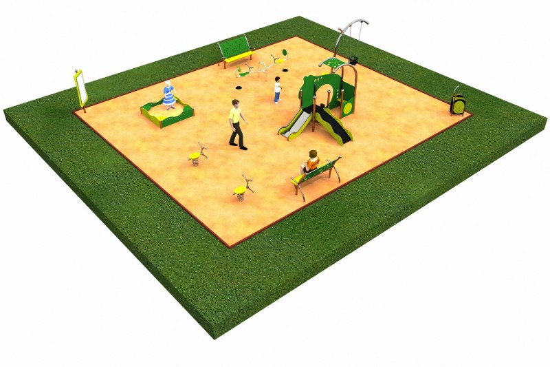 LIMAKO for toddlers layout 3 Inter Play Playground Park