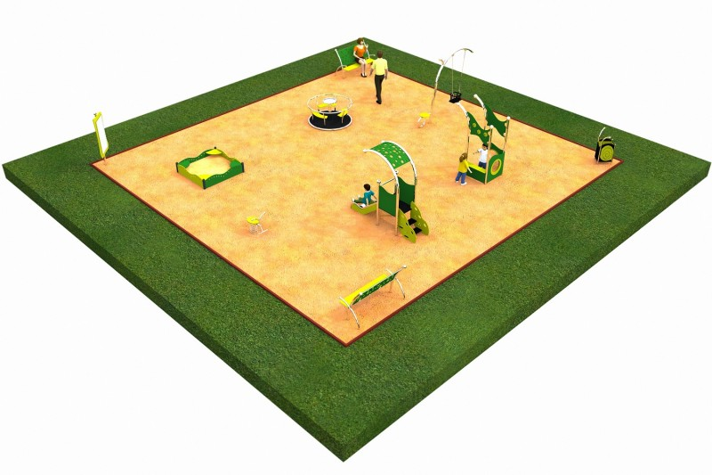 LIMAKO for toddlers layout 4 Inter Play Playground Park