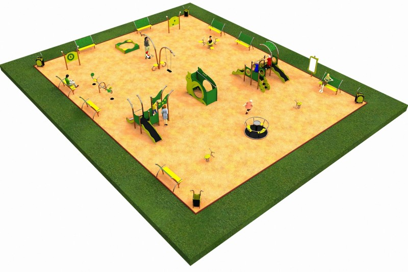 LIMAKO for toddlers layout 7 Inter Play Playground Park