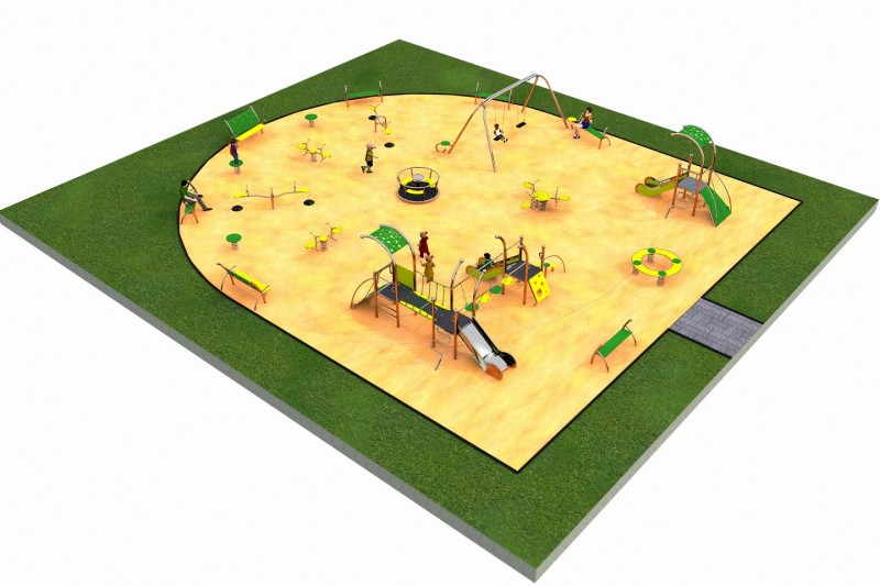 LIMAKO for kids layout 3 Inter Play Playground Park