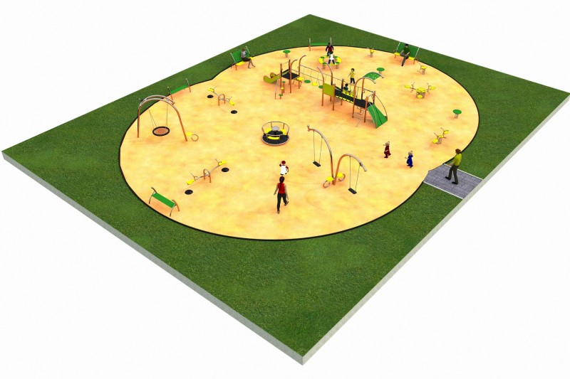 LIMAKO for kids layout 6 Inter Play Playground Park