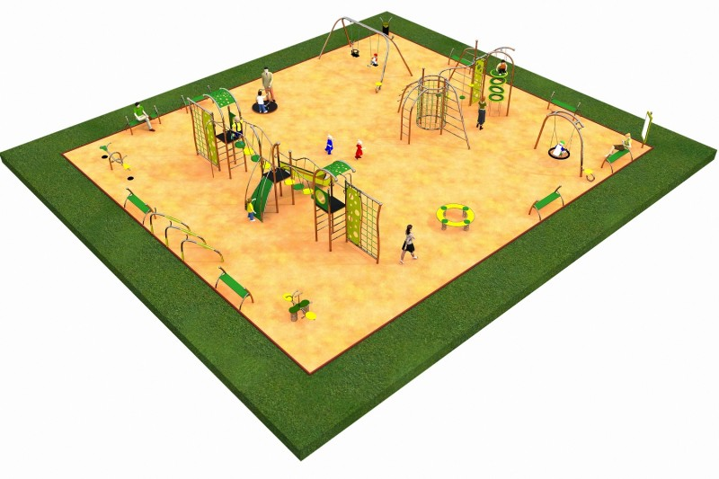LIMAKO for teenagers layout 5 Inter Play Playground Park