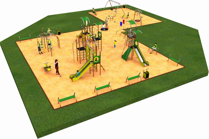 LIMAKO for teenagers layout 6 Inter Play Playground Park