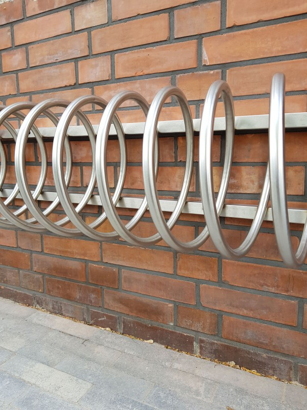 stainless steel bicycle rack 14 Inter Play Playground Park