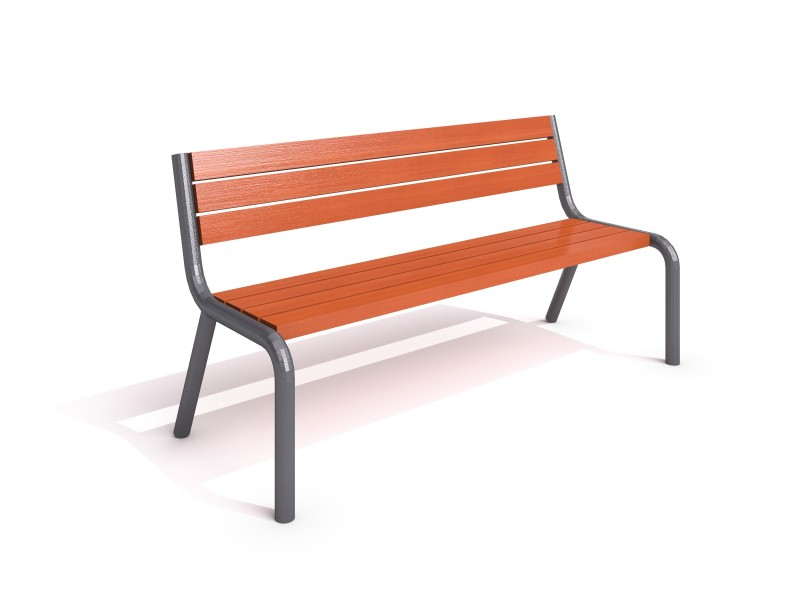 Inter-Play - steel bench 12