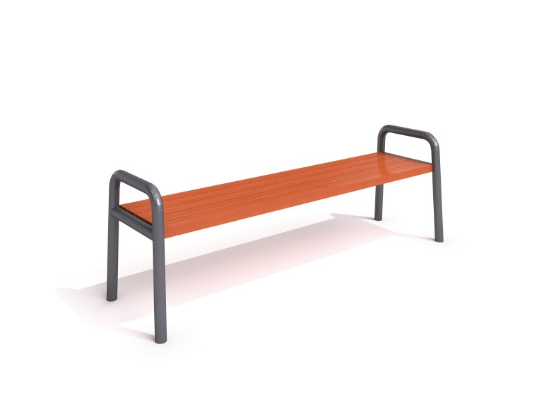 Inter-Play - steel bench 13