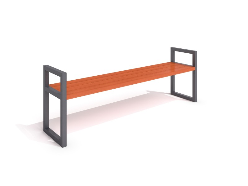 steel bench 15 Inter Play Playground