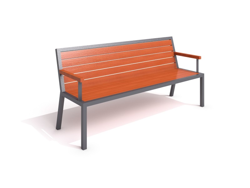 Playground Equipment for sale steel bench 17 Professional manufacturer
