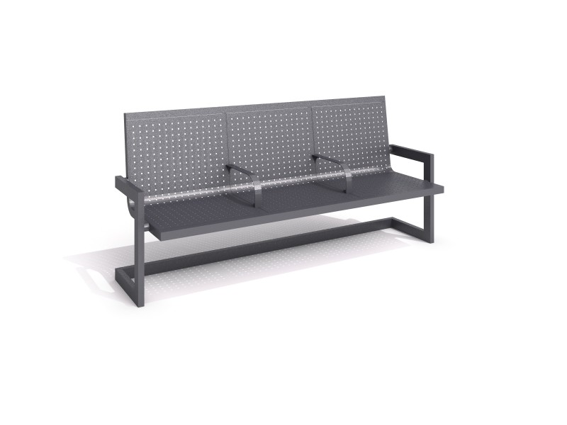 Playground Equipment for sale Steel bench 30 Professional manufacturer