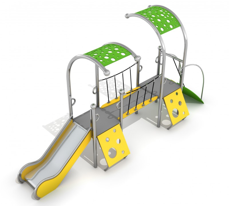 Playground Equipment for sale Zestaw Dometo 1-2 Professional manufacturer