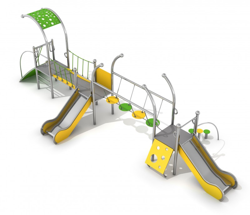 Playground Equipment for sale Zestaw Dometo 2-3 Professional manufacturer