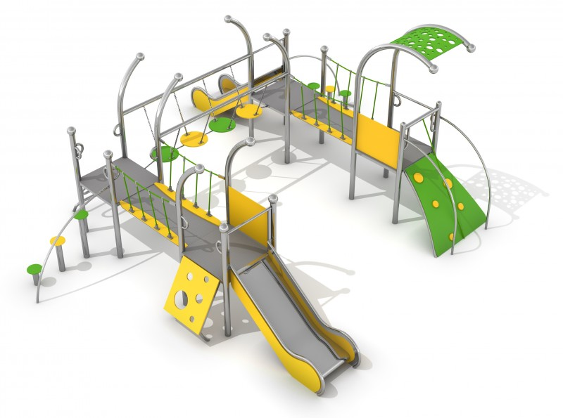 Playground Equipment for sale Zestaw Dometo 3-2 Professional manufacturer