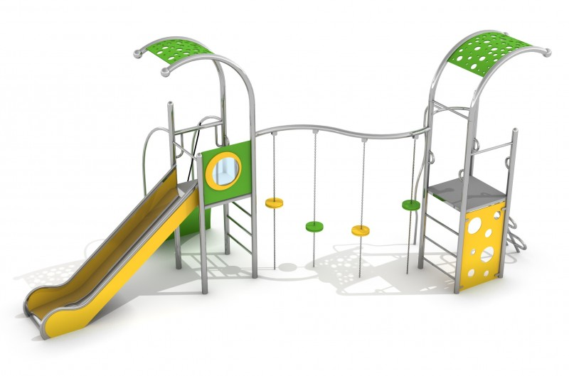 Playground Equipment for sale Zestaw Domo 2-1 Professional manufacturer