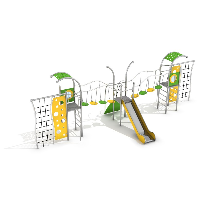 Playground Equipment for sale Zestaw Domo 3-1 Professional manufacturer