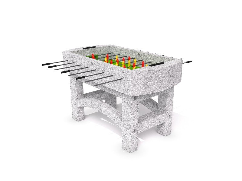 Concrete football table 01 Inter Play Playground