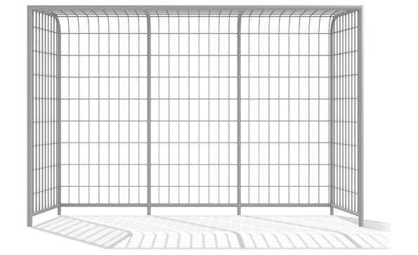 Playground Equipment for sale Football gate with basket 3x2m Professional manufacturer